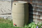 Water Savings Barrel Rain Barrel Water Conservation
