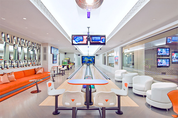 Basement Bowling Alley | Over-the-Top Home Improvements