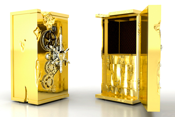 Gold-Plated Safe | Over-the-Top Home Improvements