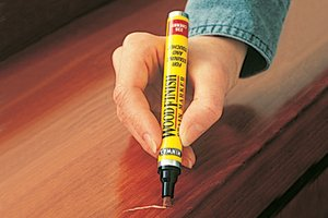 Erase ugly scratches from your wood floors realtor rosemary for Wood floor scratch repair