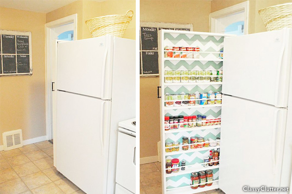 Roll Out Pantry for Small Kitchen | Slide Out Pantry | Kitchen Storage