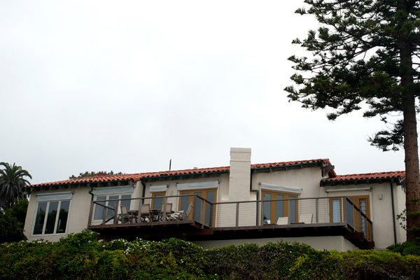 Mitt Romney's house in La Jolla, California