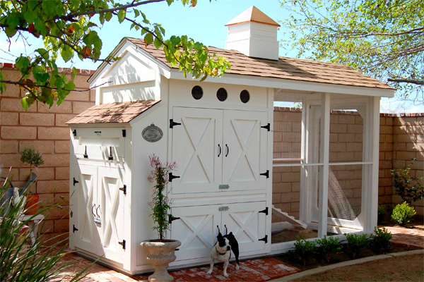 Heather Bullard's chicken coop