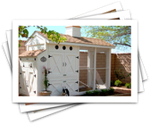 Would-Be Chicken Coops of the Rich and Famous
