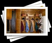 Cheery Ideas to Organize Your Mudroom or Entryway