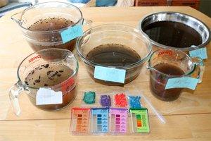 How to test soil ph testing garden soil gardening tips for Soil nutrient test kit