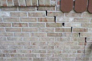 Stair step crack in foundation