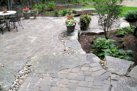 Stone Patio Ideas | Stone Patio Pictures | HouseLogic Backyard Ideas