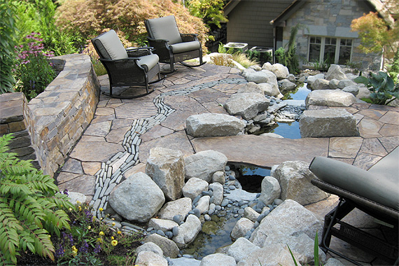 Outdoor Stone Patio Ideas