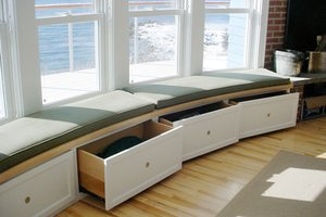 Window Seat Storage Solutions Window Seat Options