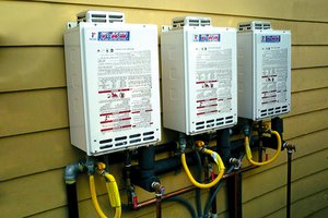 Tankless home water heaters tankless water heater options for Heating options for homes without gas