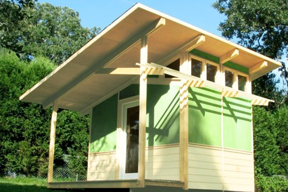Micro houses pictures tiny house companies houselogic for Shed roof tiny house