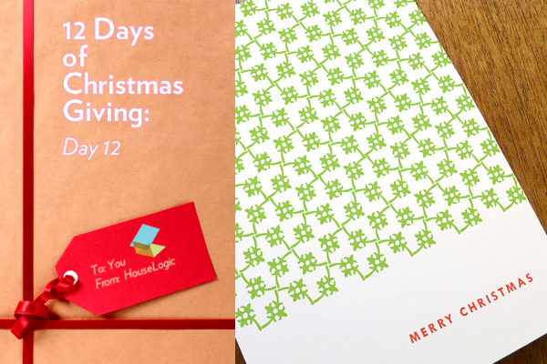 Twelfth day of Christmas card