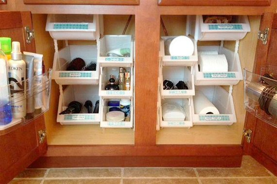 bathroom under sink storage ideas smart ideas for under sink