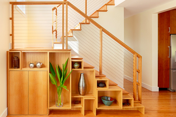 Under-Stairs Storage Solutions | Stair Storage | HouseLogic
