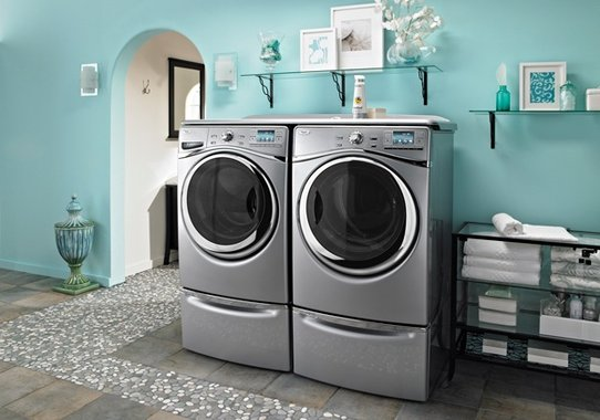 Front-Loading Washer and Dryer | Universal Design