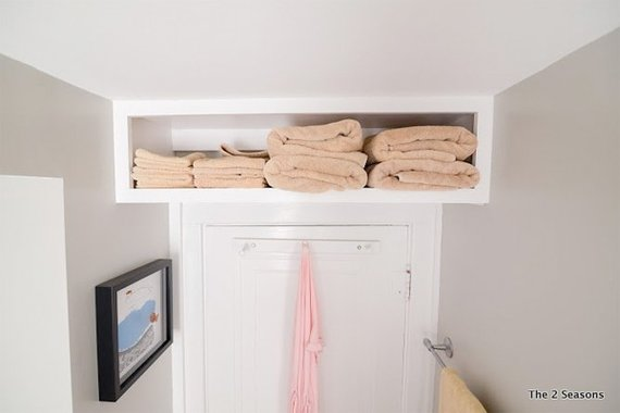 7 storage solutions you didn 39 t know you had houselogic for Bathroom storage ideas b q