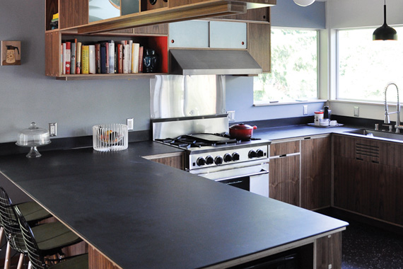 Chalkboard Kitchen Counters | Used Building Materials