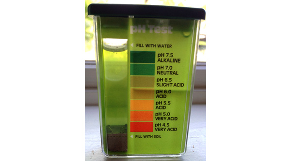 Ph and nutrient availability for Soil nutrient test kit