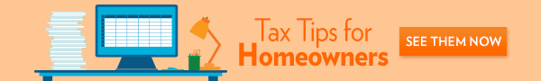 Tax Tips for Homeowners navigation banner