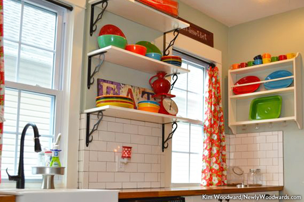 Classic kitchen fiesta ware