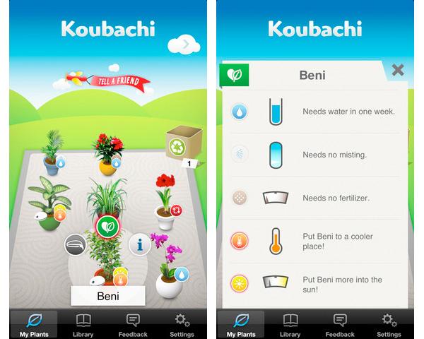 Koubachi app