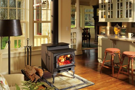 Add Efficient Wood Stove | Energy Efficient Wood Stove | HouseLogic