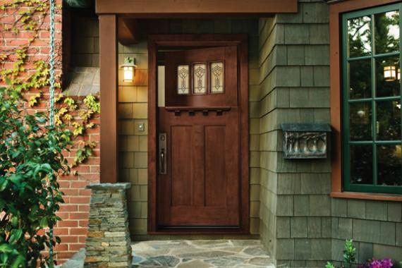 Exterior door installation options types of exterior doors for Front doors for homes