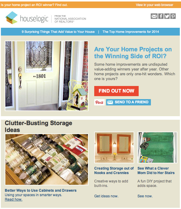 Houselogic Newsletter Example
